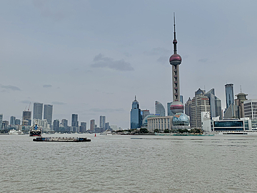 shanghai bund lujiazui financial center