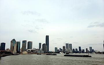 shanghai landmark building complex lujiazui