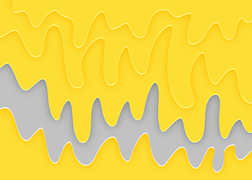 yellow gray line curve background