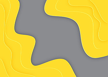 yellow gray paper card background