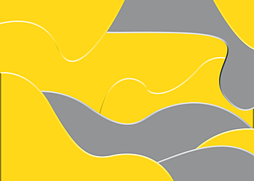 yellow gray paper style background