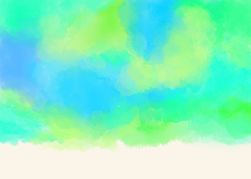 beautiful natural blue green watercolor smudge background