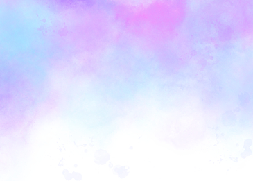 blue pink watercolor smudge background