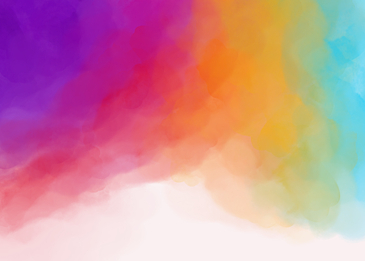 colorful watercolor smudge gradient background