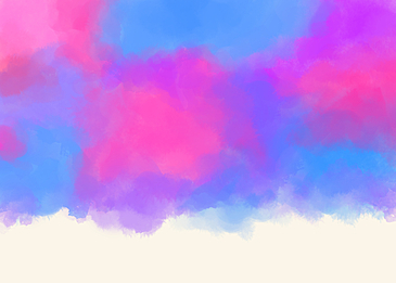 fashion glamorous blue red purple watercolor smudge background