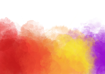 multicolor watercolor smudge background