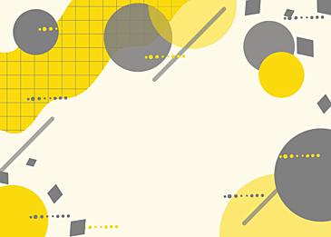 yellow gray abstract circular background