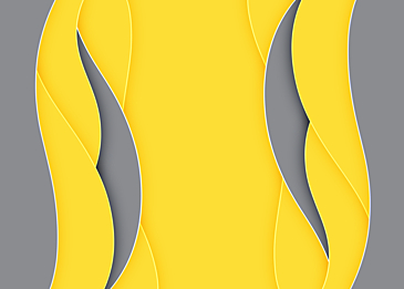 yellow gray paper card curve background