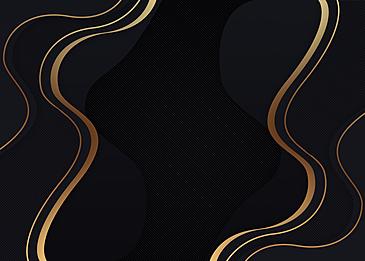 black gold fluid background