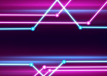 neon light effect light background