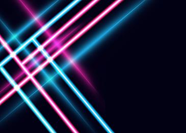 neon light effect line background