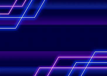 neon light line background