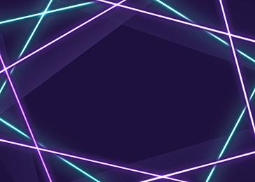 purple cyan neon light effect background