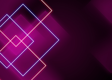 red neon light line background