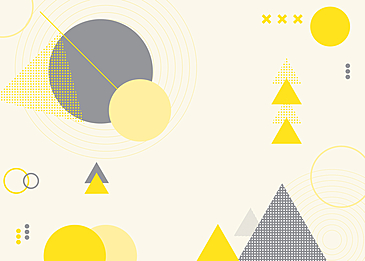 abstract yellow gray geometric background