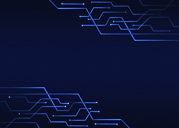 blue black abstract technology circuit background