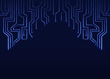 blue black gradient technology circuit background