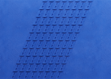 blue paper cut abstract gradient background