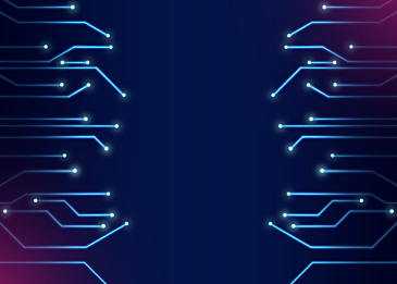 blue pink technology circuit background