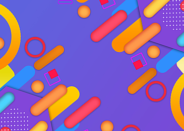 geometric strips abstract background colorful