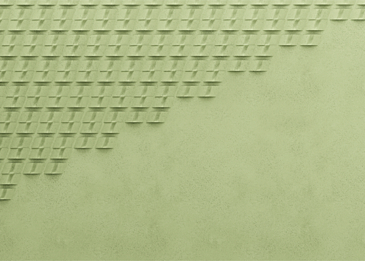 light green abstract gradient paper cut background