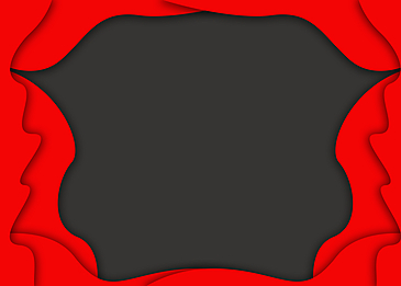 red and black irregular fluid abstract background