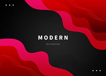 red black fluid gradient background