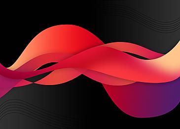 red black gradient fluid background