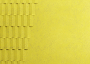 yellow abstract 3d background paper cut