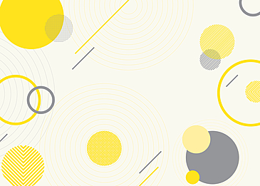 yellow gray abstract geometric background