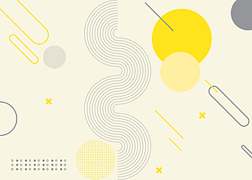 yellow gray geometric abstract background