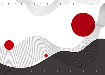 japanese style abstract geometric background