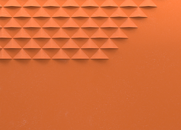 3d triangle paper cut abstract background