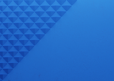 blue 3d triangle paper cut abstract background