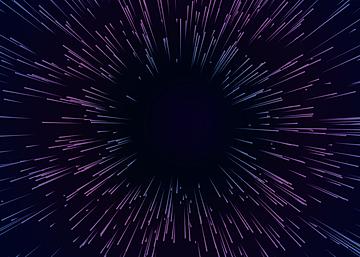starburst dynamic line background