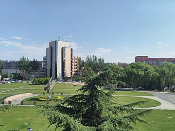 campus scenery under the sun