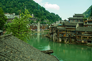 fenghuang ancient town by the tuojiang river