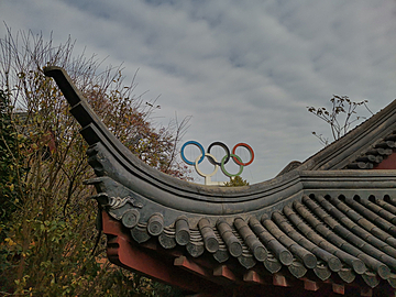 nanjing jiming temple and the olympic rings