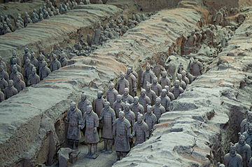 shaanxi history museum terracotta warriors and horses