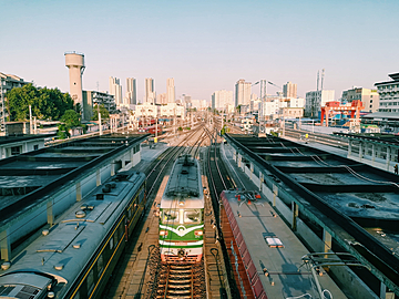 xian railway station photography map
