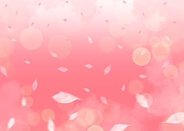pink spring petal gradient background
