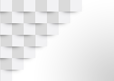 white abstract paper cut 3d gradient background