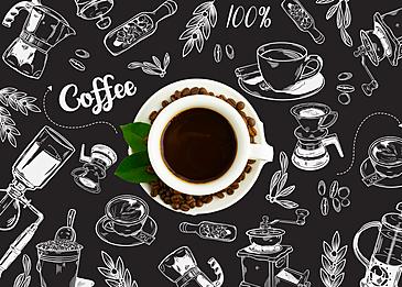 coffee line art photography