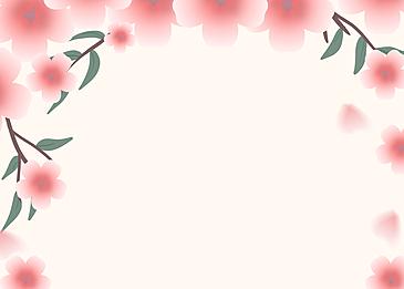 pink cherry blossom petal flower background