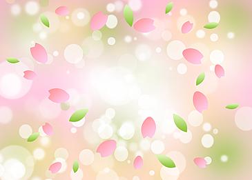 pink green gradient spring background