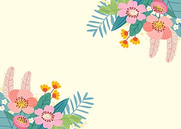spring wild flowers blooming flowers
