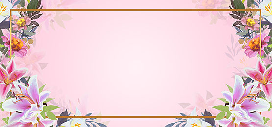 square floral background composed of flowers
