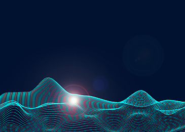 technology abstract light particle background
