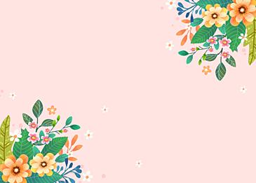 wild flowers blooming in spring
