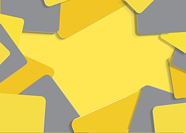 abstract geometric annual color yellow background